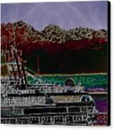 Cruising Puget Sound Canvas Print