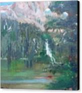 Crystal Craig At Pine Lake Canvas Print