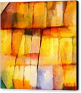 Crystal Symphony Canvas Print by Lutz Baar