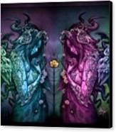Cthluhu Rainbow Canvas Print