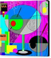 Cubic1 Canvas Print