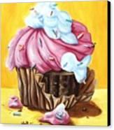 Cupcake Canvas Print