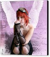 Cupid Canvas Print by Crispin  Delgado
