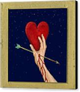 Cupids Arrow Canvas Print by Charles Harden