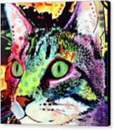 Curiosity Cat Canvas Print by Dean Russo