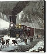 Currier And Ives Canvas Print