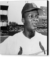 Curt Flood (1938- ) Canvas Print