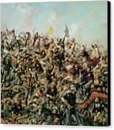 Custer's Last Stand Canvas Print by Edgar Samuel Paxson