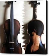 Custom Gliga Violin 2 Canvas Print