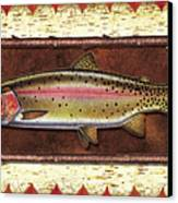 Cutthroat Trout Lodge Canvas Print