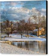 Cyrus Mccormick Farm Canvas Print by Kathy Jennings