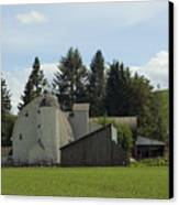 Dahmen Barn Historical Canvas Print