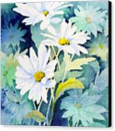 Daisies Canvas Print by Sam Sidders