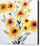 Daisy Bouquet Canvas Print