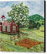 Dale Enterprise School Canvas Print