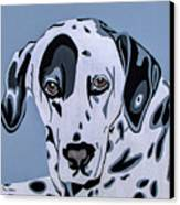 Dalmatian Canvas Print by Slade Roberts