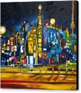 Dam Square Canvas Print