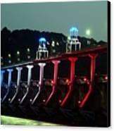 Damm River Bridge Canvas Print
