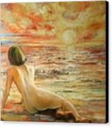 Danae Canvas Print by Tigran Ghulyan