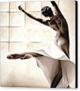 Dance Finesse Canvas Print
