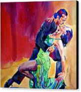 Dance Intense Canvas Print