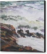 Dance Of The Rising Tide Canvas Print