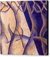 Dancers - Study 12 Canvas Print