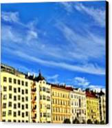 Dancing House Area Canvas Print
