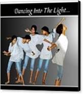Dancing Into The Light Canvas Print