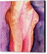 Dancing Shoes Canvas Print