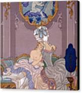 Dangerous Liaisons Canvas Print by Georges Barbier
