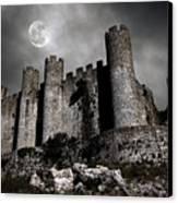 Dark Castle Canvas Print by Carlos Caetano