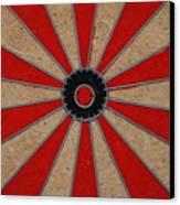 Dart Board Canvas Print