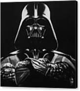 Darth Vader Canvas Print by Don Medina