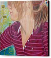 Das Girl Canvas Print