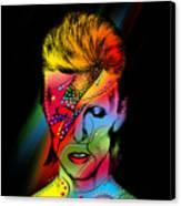 David Bowie Canvas Print by Mark Ashkenazi