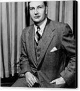 David Rockefeller B. 1915 Grandson Canvas Print by Everett
