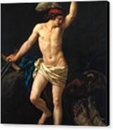 David Victorious Canvas Print