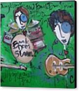 Davy Knowles And Back Door Slam Canvas Print by Laurie Maves ART