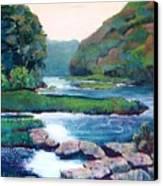 Dawn In West Virginia Canvas Print