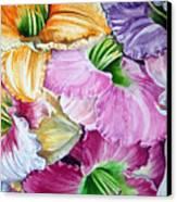 Daylillies Canvas Print