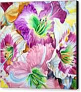 Daylilliesll Canvas Print