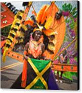 Dc Caribbean Carnival No 13 Canvas Print by Irene Abdou
