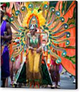 Dc Caribbean Carnival No 15 Canvas Print by Irene Abdou