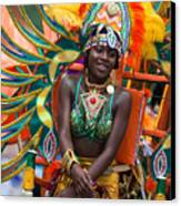 Dc Caribbean Carnival No 17 Canvas Print by Irene Abdou