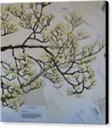 Dear Artist Canvas Print by Leah  Tomaino