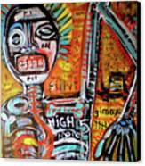 Death Of Basquiat Canvas Print