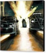Deathrace Canvas Print