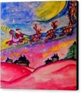 December 24th Canvas Print by Helena Bebirian