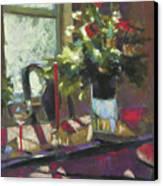 December Morning Light Canvas Print